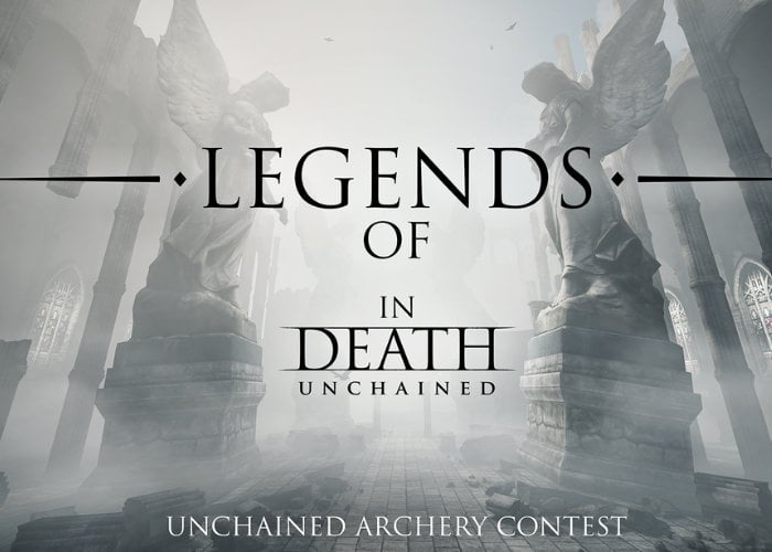 Legends Of In Death Unchained VR archery contest