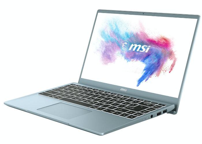 MSI laptop 2020