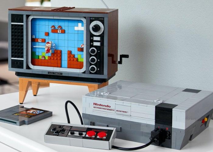 Nintendo Entertainment System Lego set