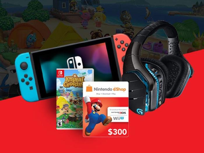 Nintendo Gaming Bundle Giveaway