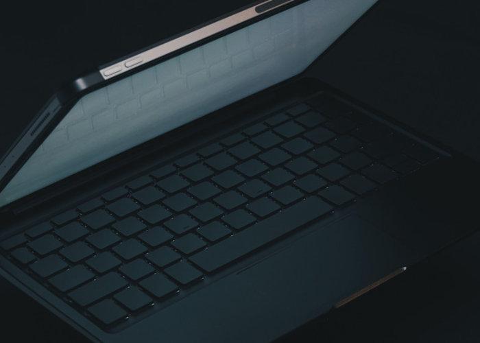 Nullboard minimalist blank iPad pro keyboard - Geeky Gadgets