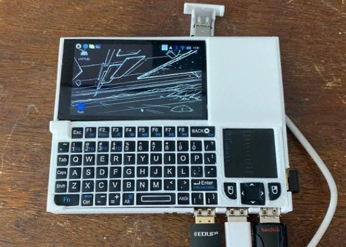 Raspberry Pi handheld computer