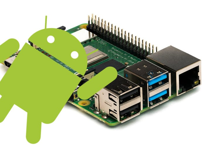 Raspberry Pi running Android using LineageOS - Geeky Gadgets