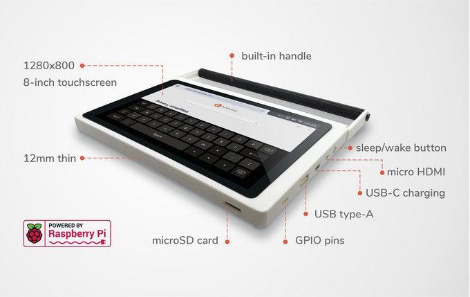Cutie Pi's tablet