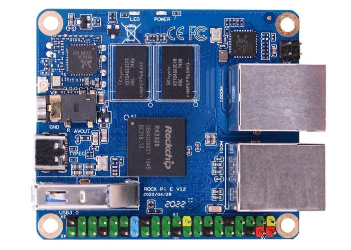 Rock Pi E quad-core mini PC