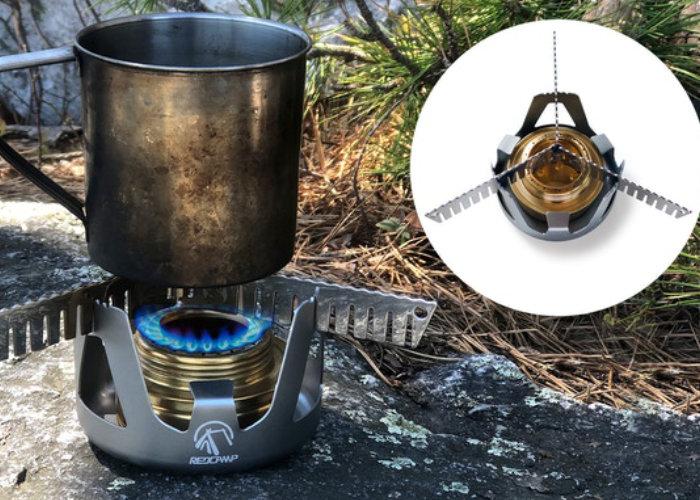 Survival stove head