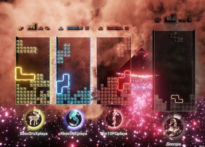 Tetris Effect multiplayer puzzle game