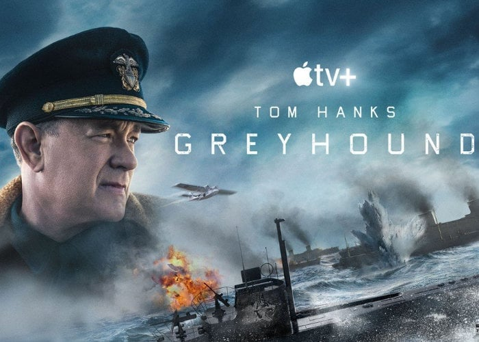 Tom Hanks Greyhound WWII movie