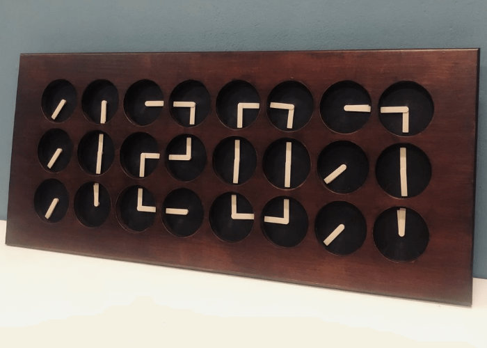 Unique Clockception Arduino project