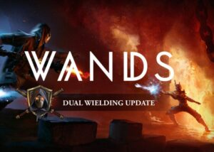Wands VR wizard game