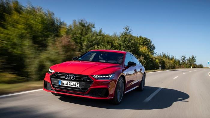 2021 Audi A7 55 TFSI e plug-in hybrid