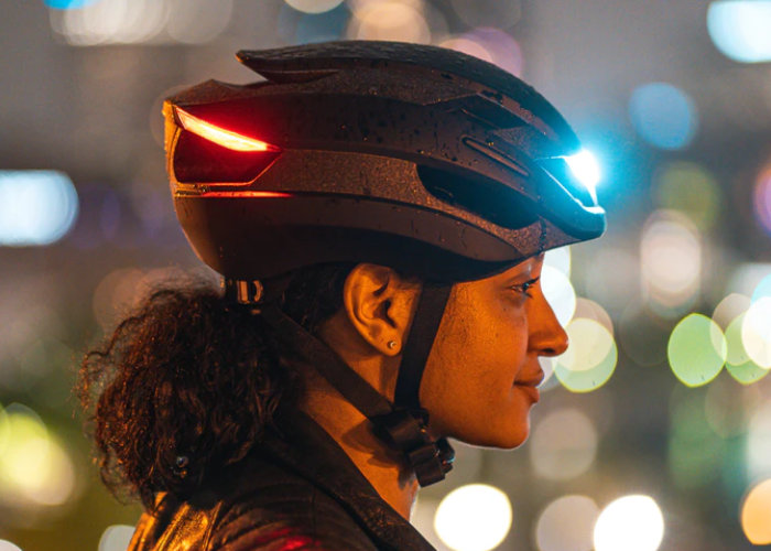 Lumos Ultra LED light bike helmet raises over $1.8 million via Kickstarter - Geeky Gadgets