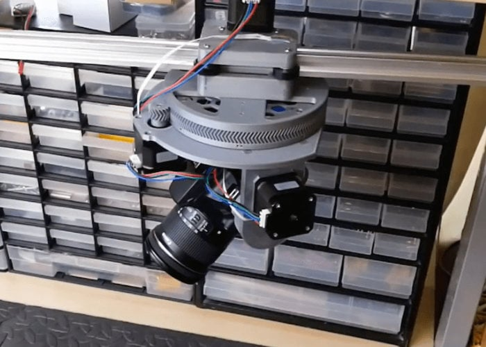 Arduino powered camera slider and pan-tilt camera mount - Geeky Gadgets
