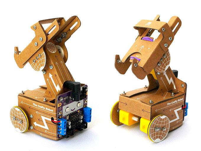 cardboard telepresence robot
