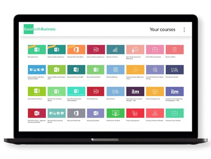 Save 96% on the Excel with Business Lifetime All-Course Access