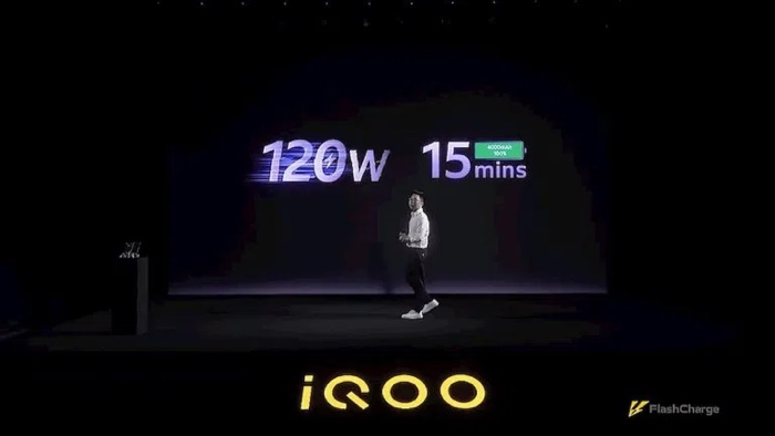 QOO 120W Ultra-flash charging