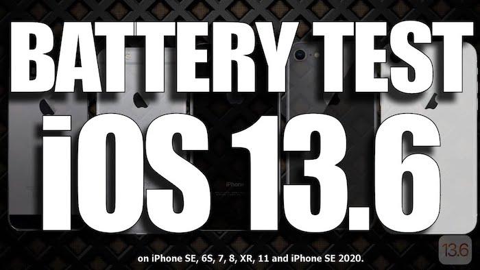 iOS 13.6 battery life