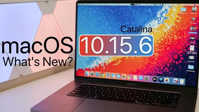 macOS Catalina 10.15.6