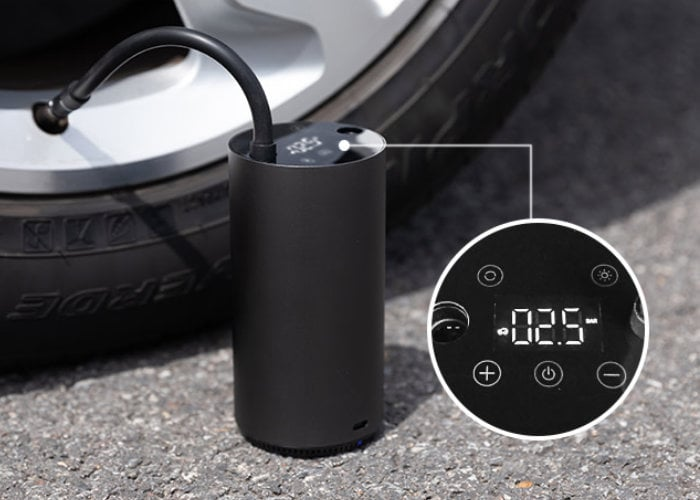 portable tire inflator