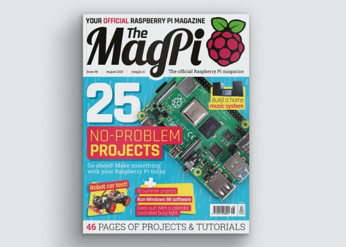 """MagPi magazine issue 96 now available with 25 """"no-problem"""" projects to keep you busy - Geeky Gadgets"""