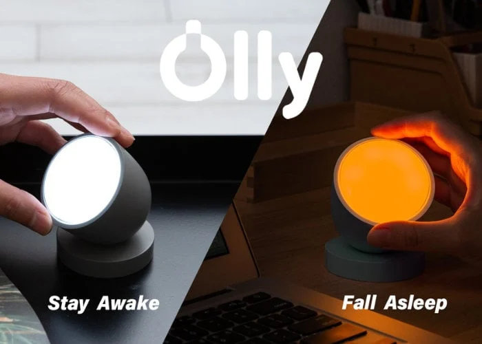 Olly smart light helps your body rest its circadian rhythm - Geeky Gadgets