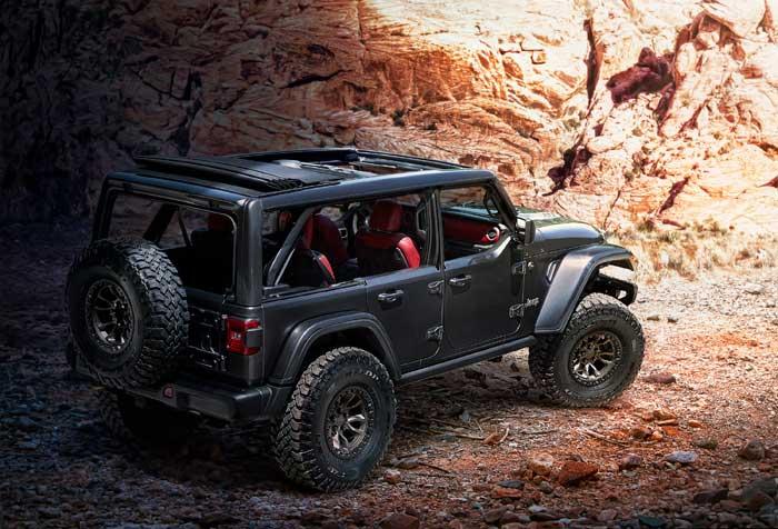 Jeep Wrangler Rubicon 392 concept debuts - Geeky Gadgets