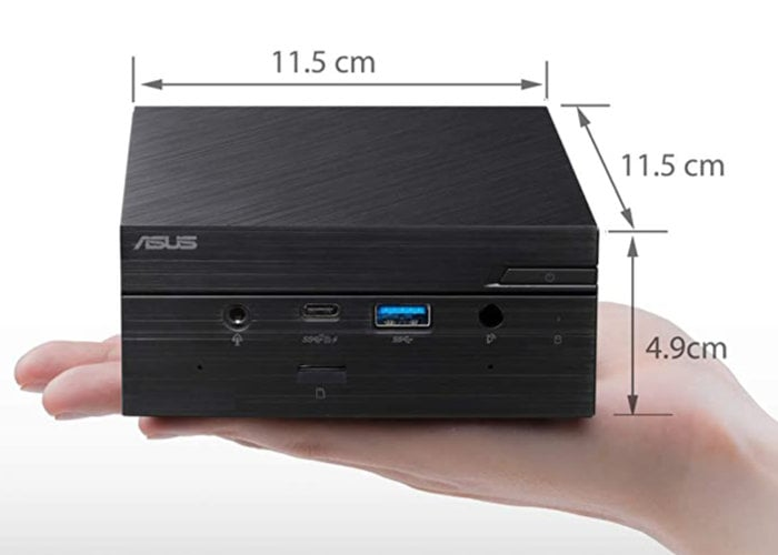 ASUS PN50 mini PC with AMD Ryzen 7 4700U £370 - Geeky Gadgets