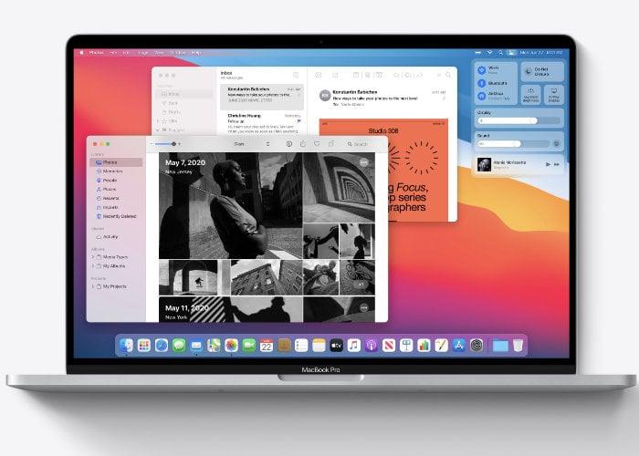 Apple macOS Big Sur public beta