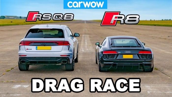 Audi R8 vs Audi RSQ8