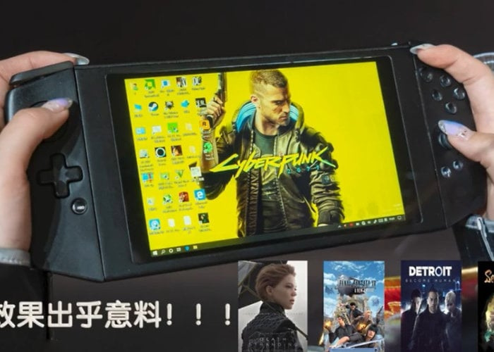 Aya Neo handheld gaming PC