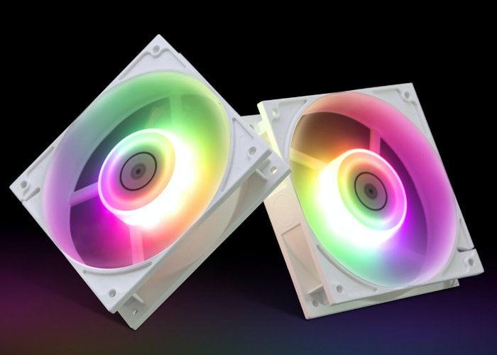EK high-performance White PC fans
