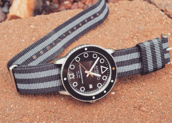 Flamingo professional diving watch