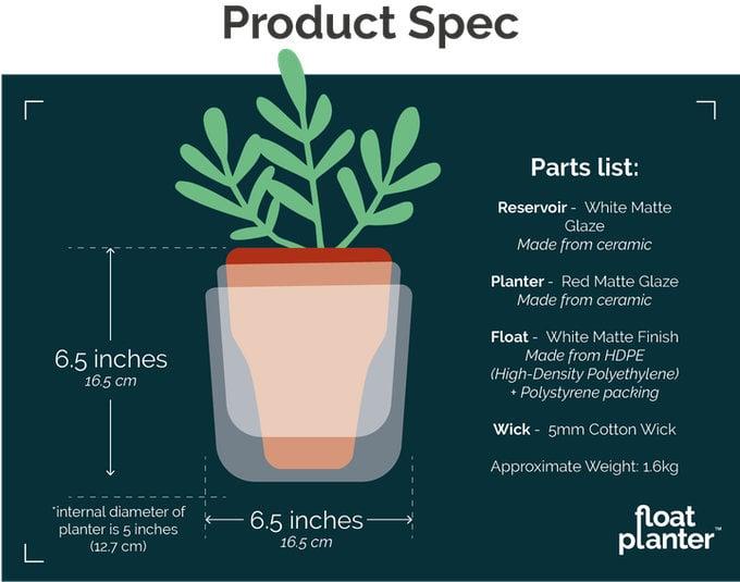 Float Planter flower pot
