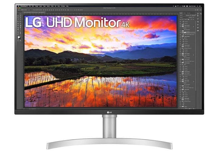 LG 32UN650-W 4K UHD monitor