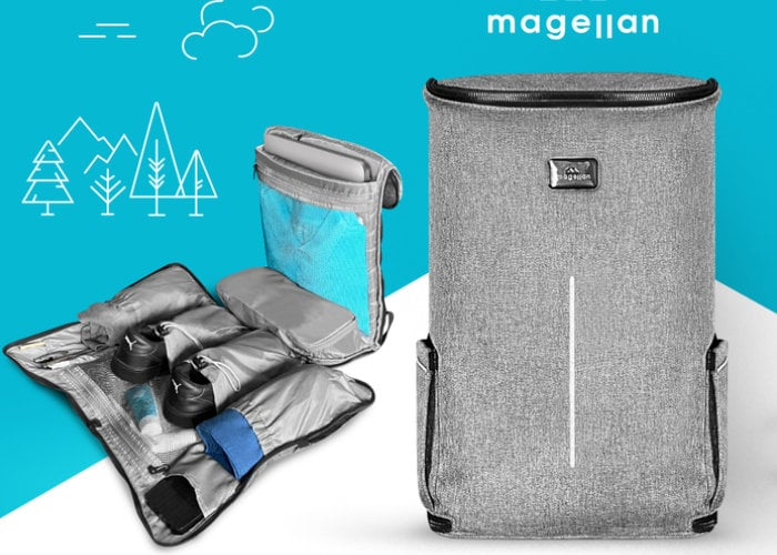 Magellan Archiver Backpack keeps all your essentials within easy reach from $79 - Geeky Gadgets