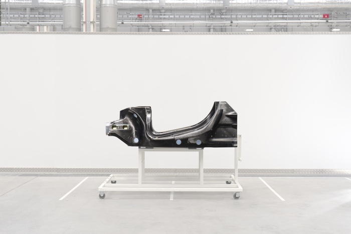 McLaren flexible vehicle architecture