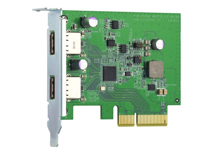 NAS PCIe expansion card