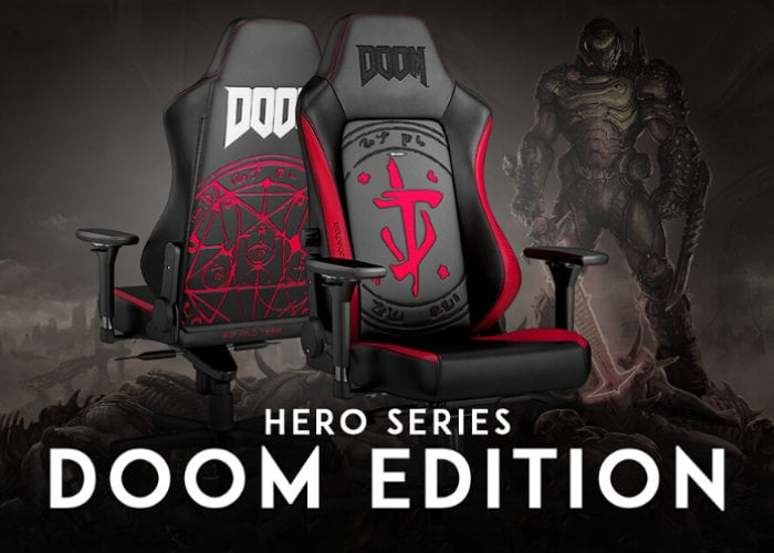 Noblechairs DOOM Edition gaming chair