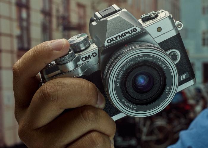 Olympus E-M10 IV mirrorless camera
