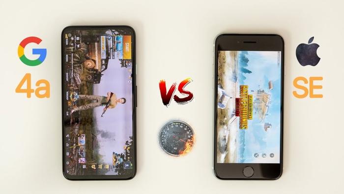 Pixel 4a vs 2020 iPhone SE