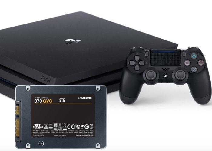 PlayStation 4 Pro SSD