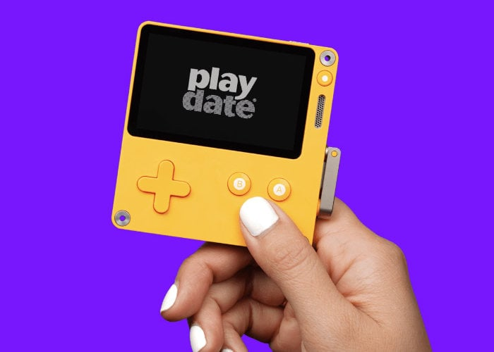 Playdate games console