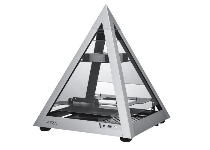 Azza Pyramid Mini 806 mini-ITX PC case €250 - Geeky Gadgets