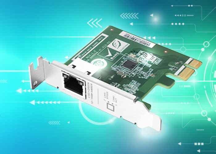 QNAP 2.5 GbE single-port PCIe card for NAS