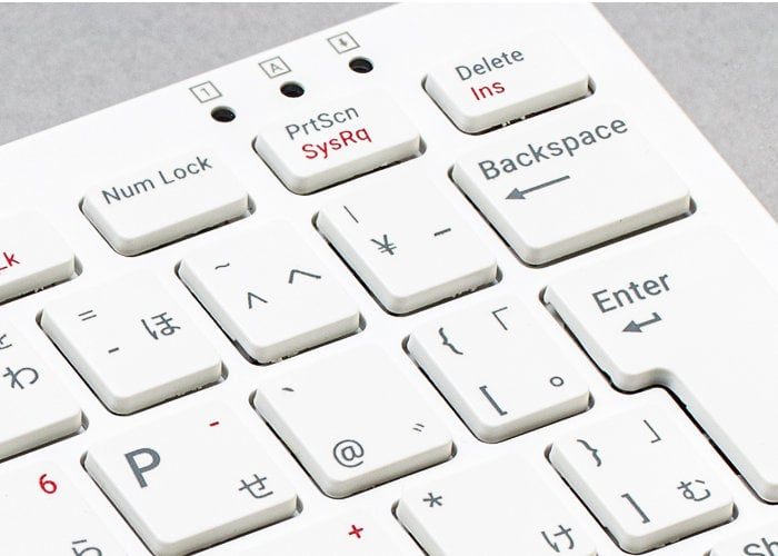 Raspberry Pi keyboard