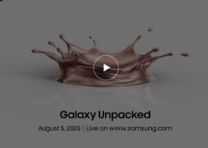 Samsung's Galaxy Unpacked Event 2020