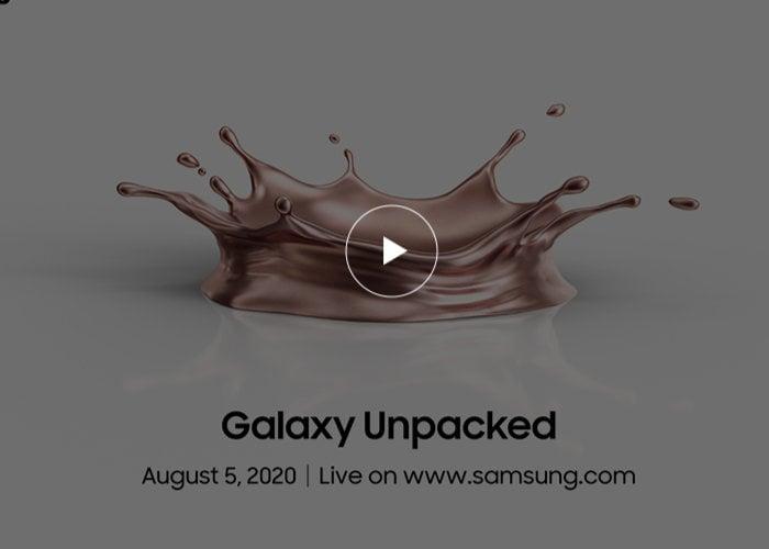 Samsung's Galaxy Unpacked Event 2020