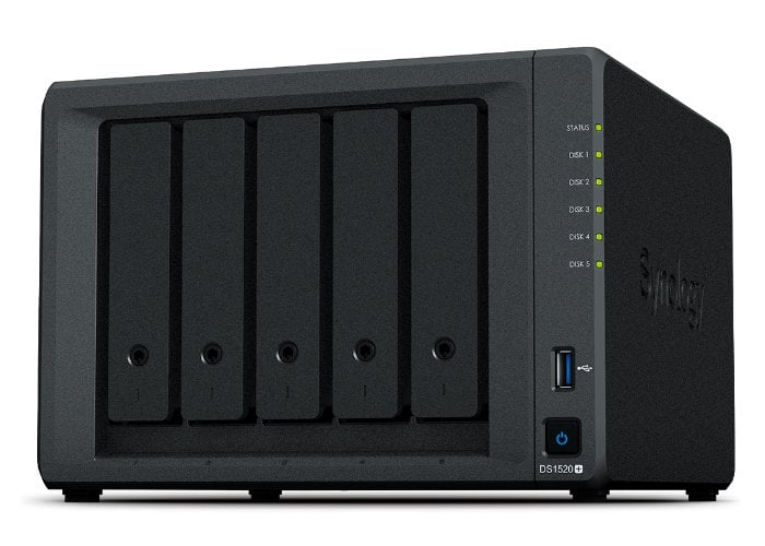 Synology DiskStation DS1520+ 5 bay NAS - Geeky Gadgets