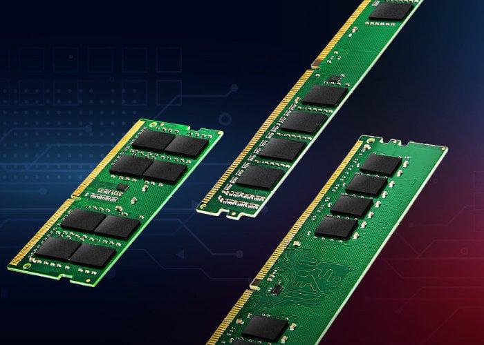 Transcend  DDR4 3200 MHz industrial modules