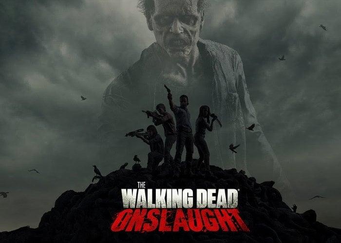 Walking Dead Onslaught VR gameplay